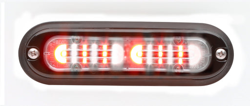 Whelen Ion T-Series Linear Duo Super LED, Red/ White- TLI2D