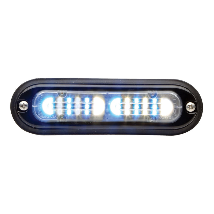 Whelen Ion T-Series Linear Duo Super LED, Blue/White- TLI2E