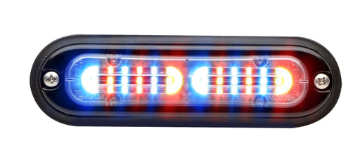 Whelen Ion T-Series Linear Duo Super LED, Red/Blue- TLI2J