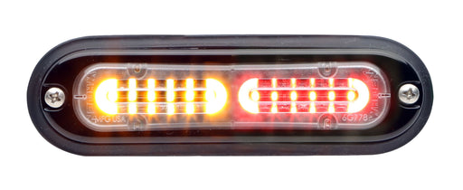 Whelen Ion T-Series Linear Split Super LED, Red/ White- TLID