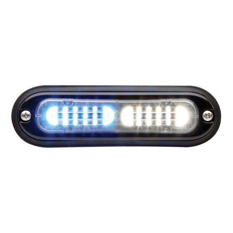 90BB5FCR Blue LED with Clear lens Whelen 900 Series Super LED