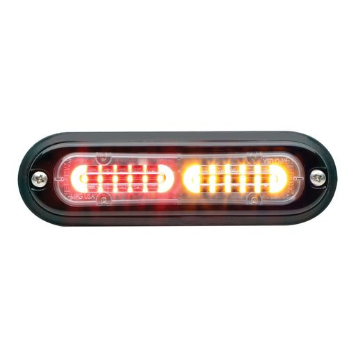 Whelen Ion T-Series Linear Split Super LED, Red/ Amber- TLIK