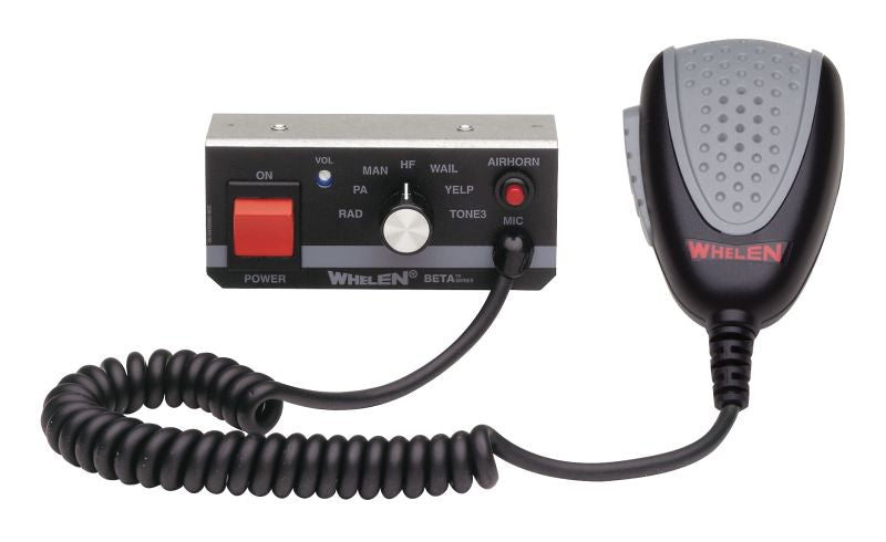 Whelen BETA1 Remote Siren Control Head-BETA1