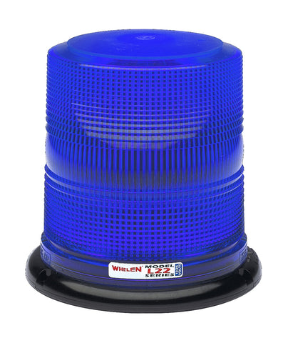 Whelen L22 Series Super-LED® High Dome Beacon with Magnetic/Suction Cup Base, Blue- L22HBP