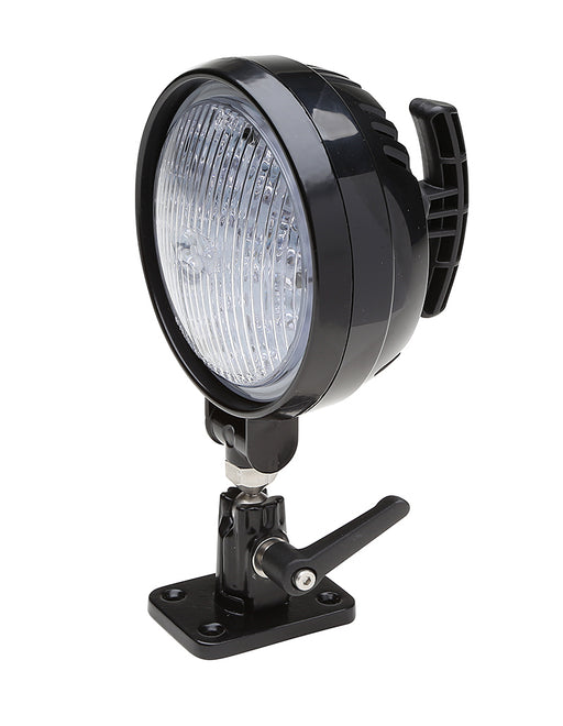 Whelen PAR-36 Round Super-LED® Work Light with Pedestal/Swivel Mount- PFBP12