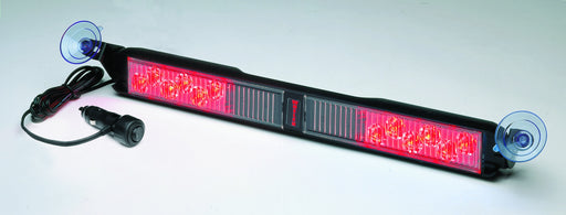 Whelen Slimlighter Super-LED Windshield Light, Red/Red- SLPMMRR