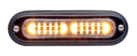 Whelen Ion T-Series Linear Split Super LED, Amber- TLIA
