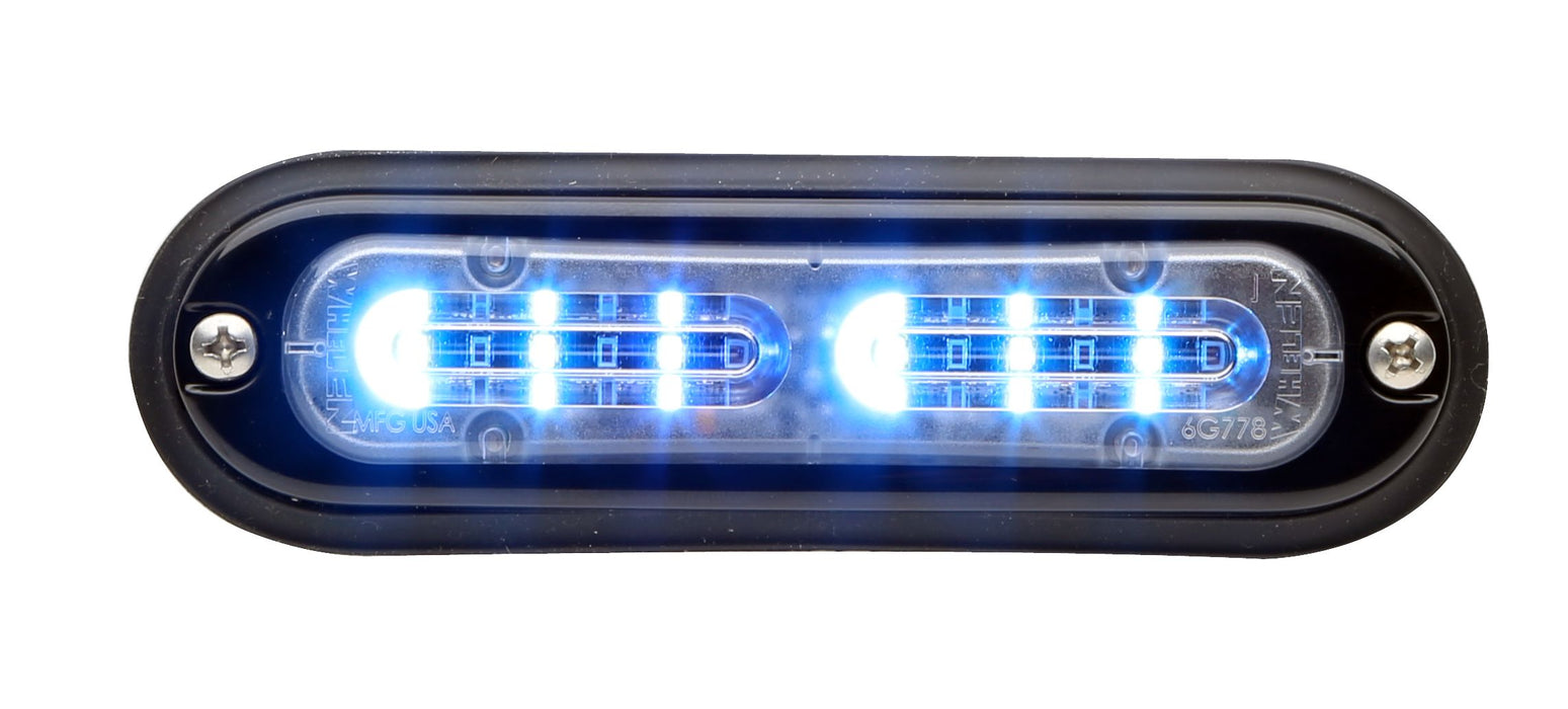 Whelen Ion T-Series Linear Split Super LED, Blue- TLIB
