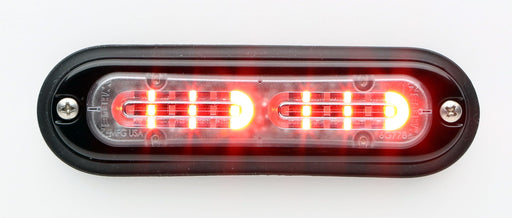 Whelen Ion T-Series Linear Split Super LED, Red- TLIR