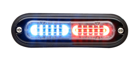 Whelen Ion T-Series Linear Split Super LED, Red/ Blue- TLIJ