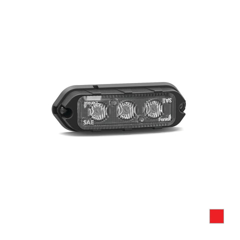 Feniex T3 LED Surface Mount, Red- D-50015 R