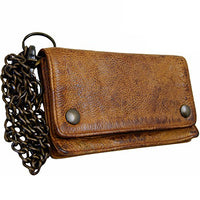 KROWNTOES BARON of MALTZAHN Men's wallet with chain CARNEGIE Leather