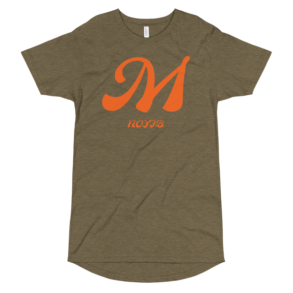 M LETTER Long Body Urban Tee