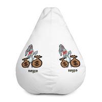 THE BUNNY STOP CARING Bean Bag Chair Cover