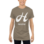 H Letter Long Body Urban Tee