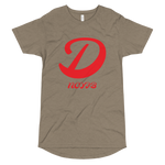 D Letter Long Body Urban Tee