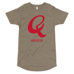 Q LETTER Long Body Urban Tee