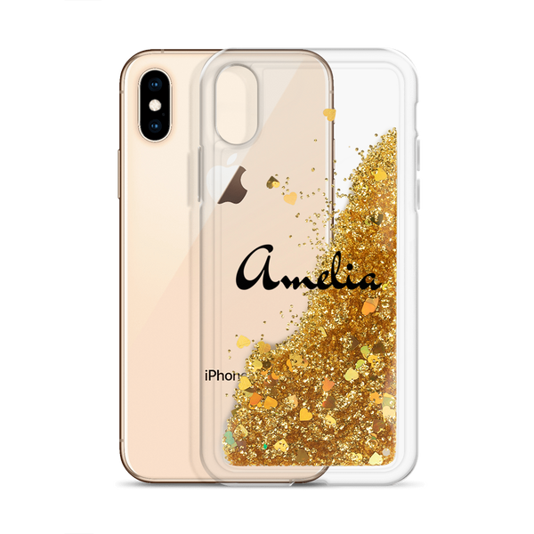AMELIA Liquid Glitter Phone Case