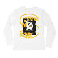 "SYK ""KASH"" Long Sleeve Fitted Crew"
