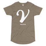 V LETTER Long Body Urban Tee