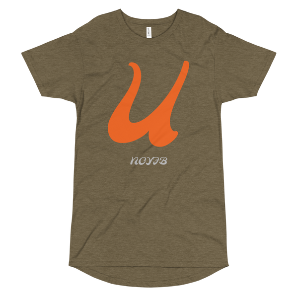 U LETTER Long Body Urban Tee