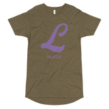L LETTER Long Body Urban Tee