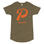 P LETTER Long Body Urban Tee