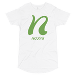 N LETTER Long Body Urban Tee