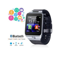 Unlocked 2-in-1 SmartWatch & Phone + Built-In Camera + Pedometer + Bluetooth Sync