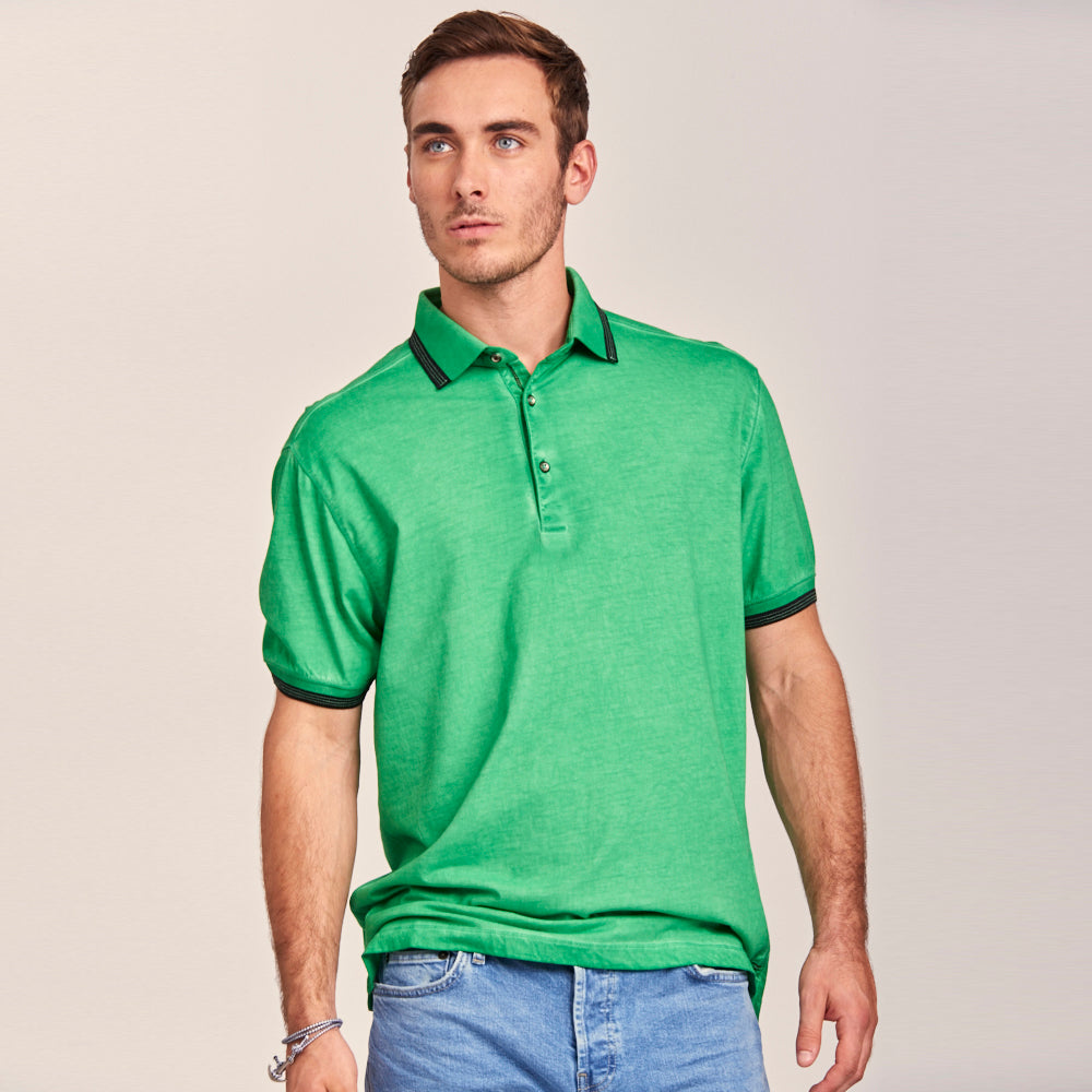 RUGGED TAKE ON A TRADITIONAL POLO