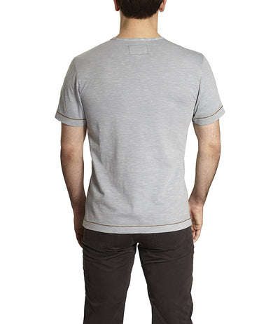 TADD by Thaddeus AL Short Sleeve Solid Crew Neck T-shirt