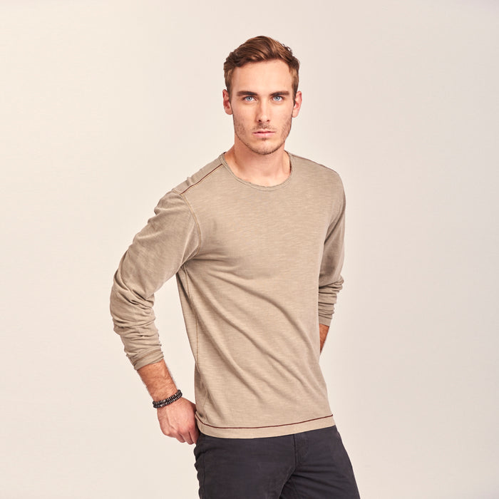 TADD by Thaddeus Men's ALBIE Long Sleeve Jersey Crew Neck
