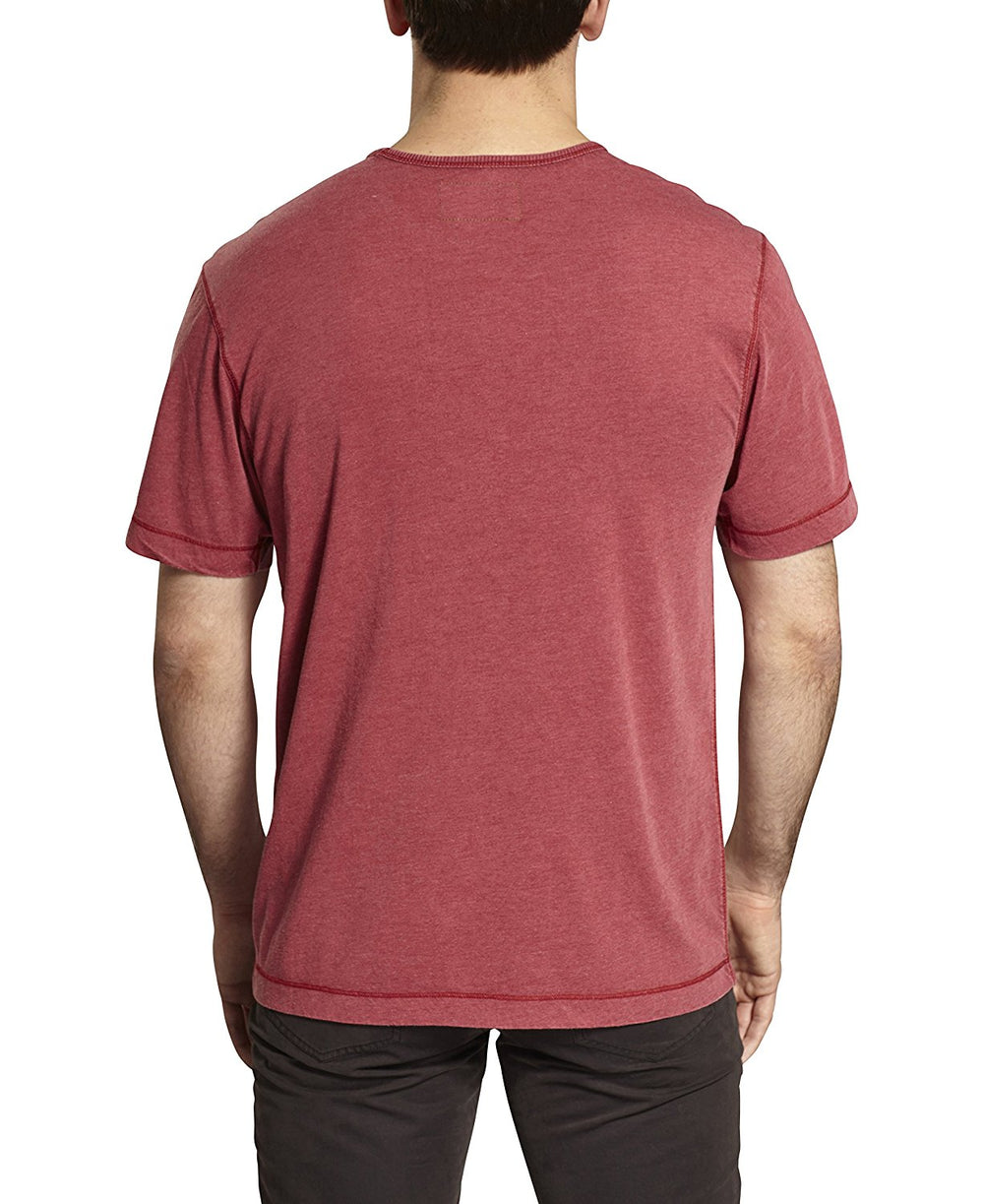 TADD by Thaddeus BEAU Short Sleeve Solid Crew Neck T-Shirt