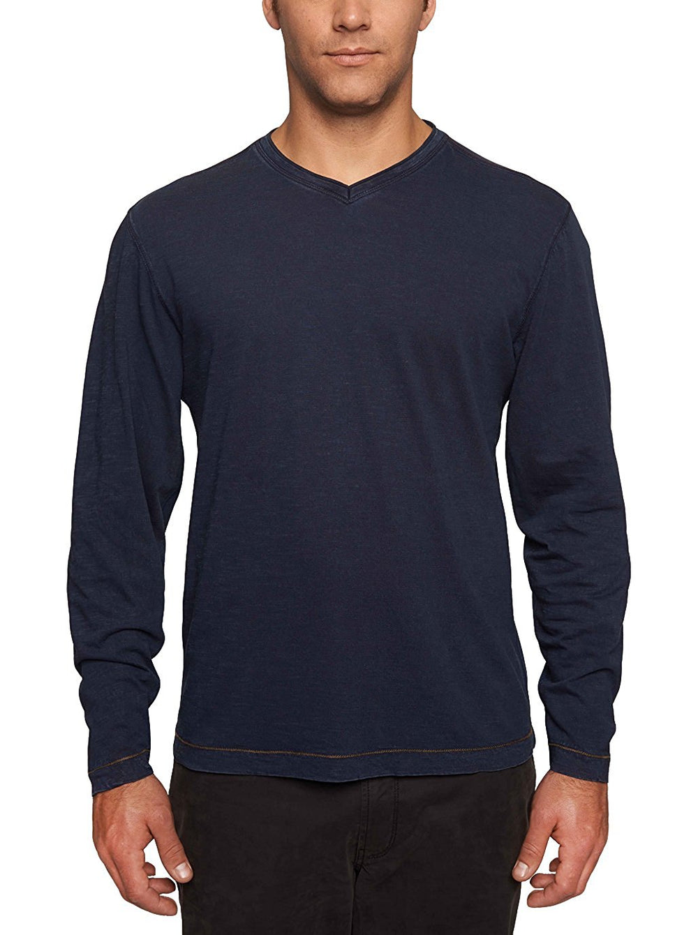 TADD by Thaddeus Men's CHIP Long Sleeve Jersey V-Neck T Shirt