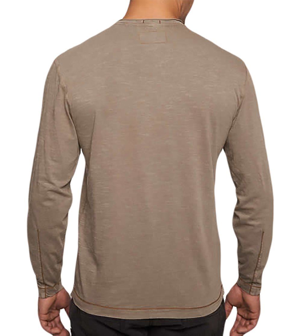 cbc4da9ae93b TADD by Thaddeus Men s CHIP Long Sleeve Jersey V-Neck T Shirt ...