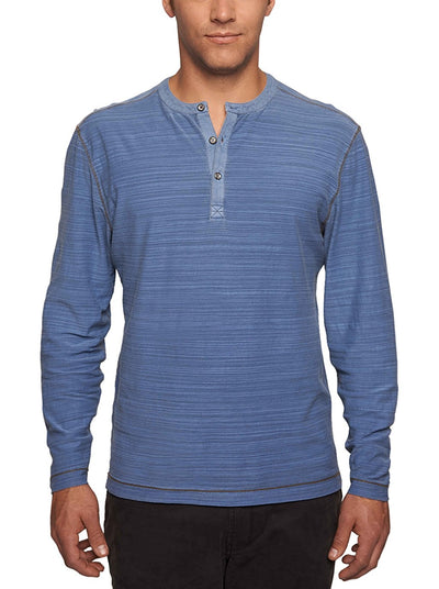 TADD BY Thaddeus Men's DON Long Sleeve Jersey Henley