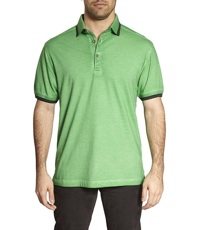 TADD by Thaddeus FERG Short Sleeve Cotton Edge Contrast Polo