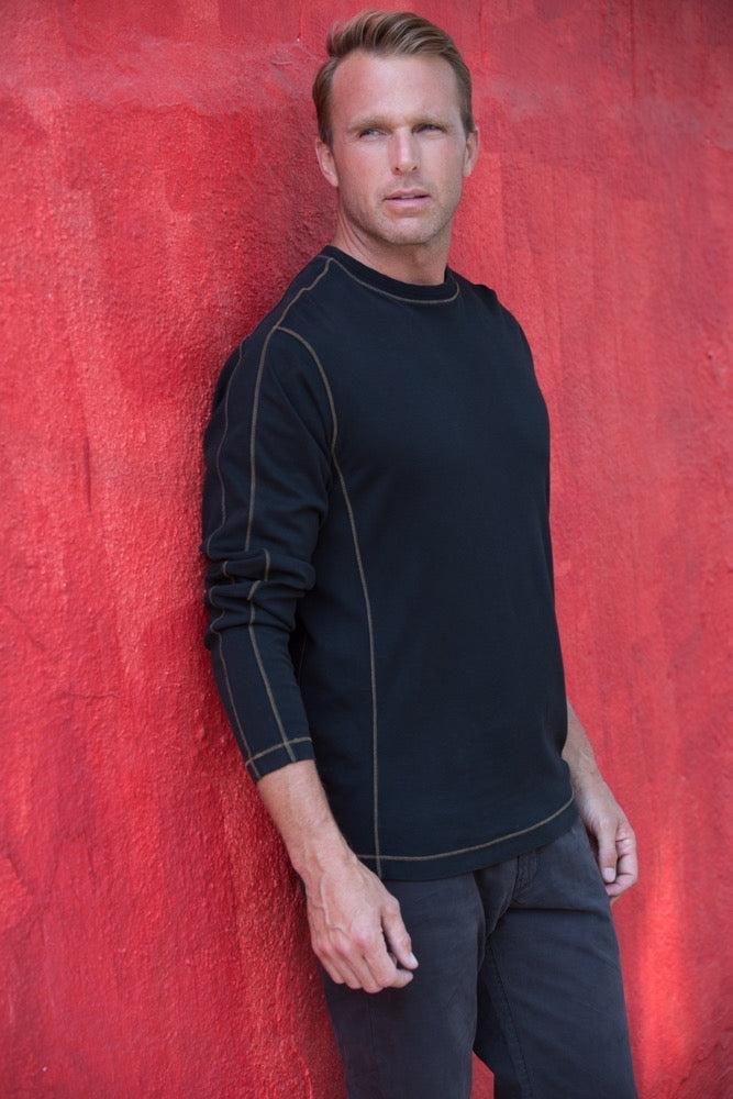 Thaddeus KENYON Long Sleeve Crew Neck