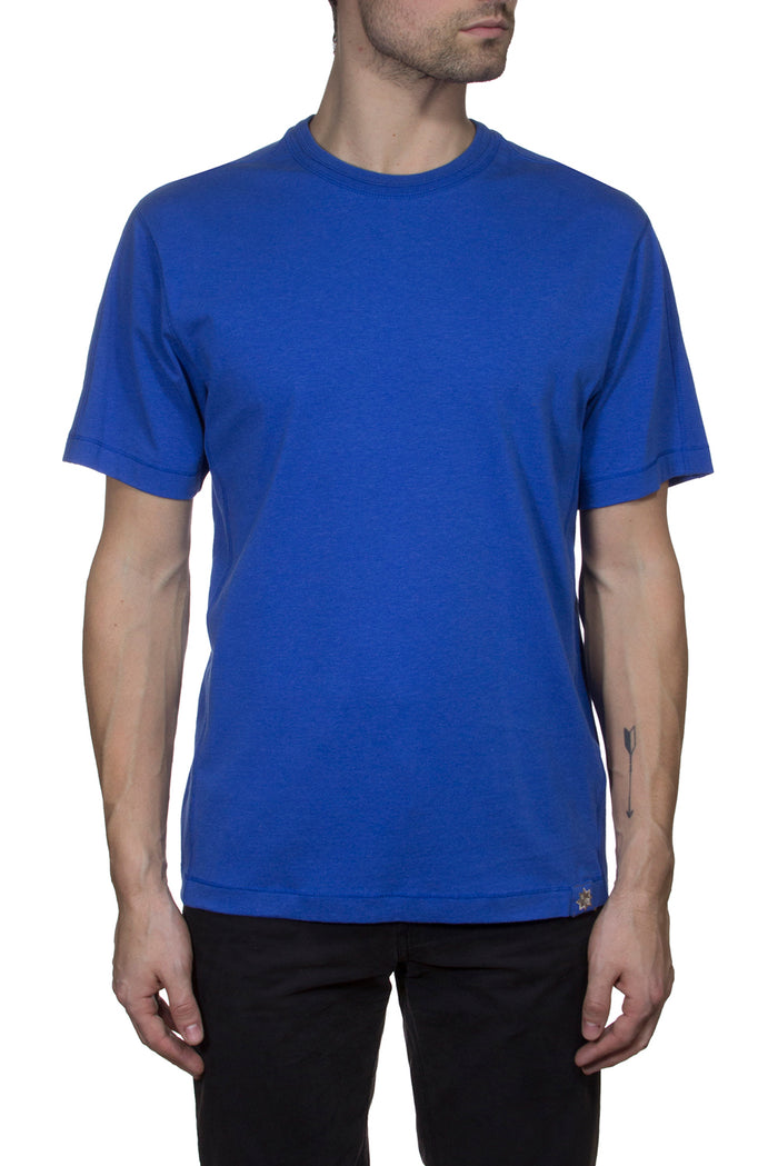 Thaddeus STEVE Short Sleeve Stretch Jersey Crew Neck