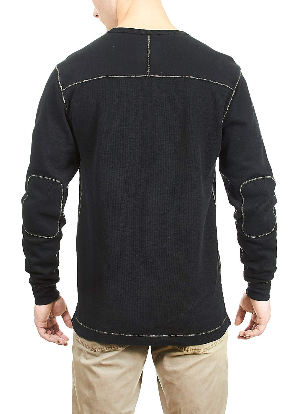Thaddeus HARRY LS 100% Cotton Thermal Henley