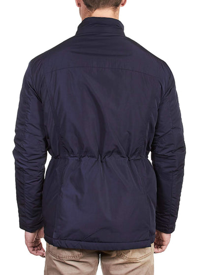Thaddeus MONTY Mens 100% Polyester Zip and SNAP Front Jacket