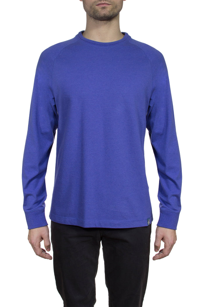 Thaddeus STEFANO Long Sleeve Crew Neck