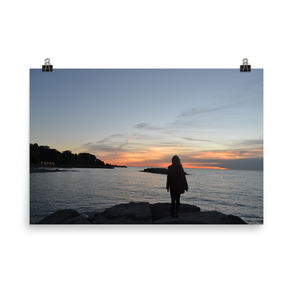 The Sunrise Storyteller Photo Print