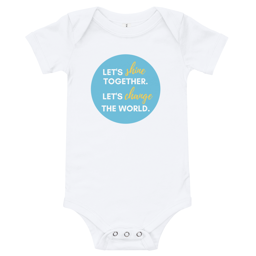 Shine Together Baby Bodysuit