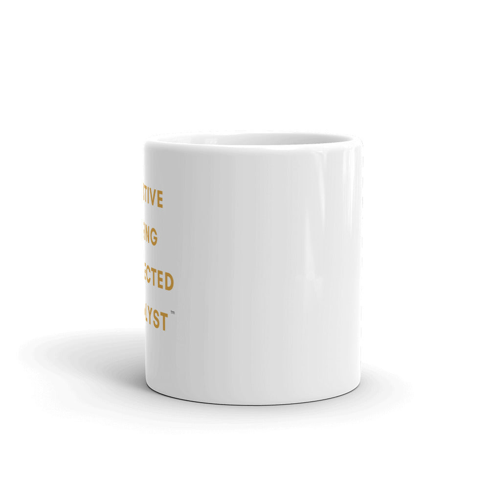 Creative, Caring, Connected Catalyst Mug