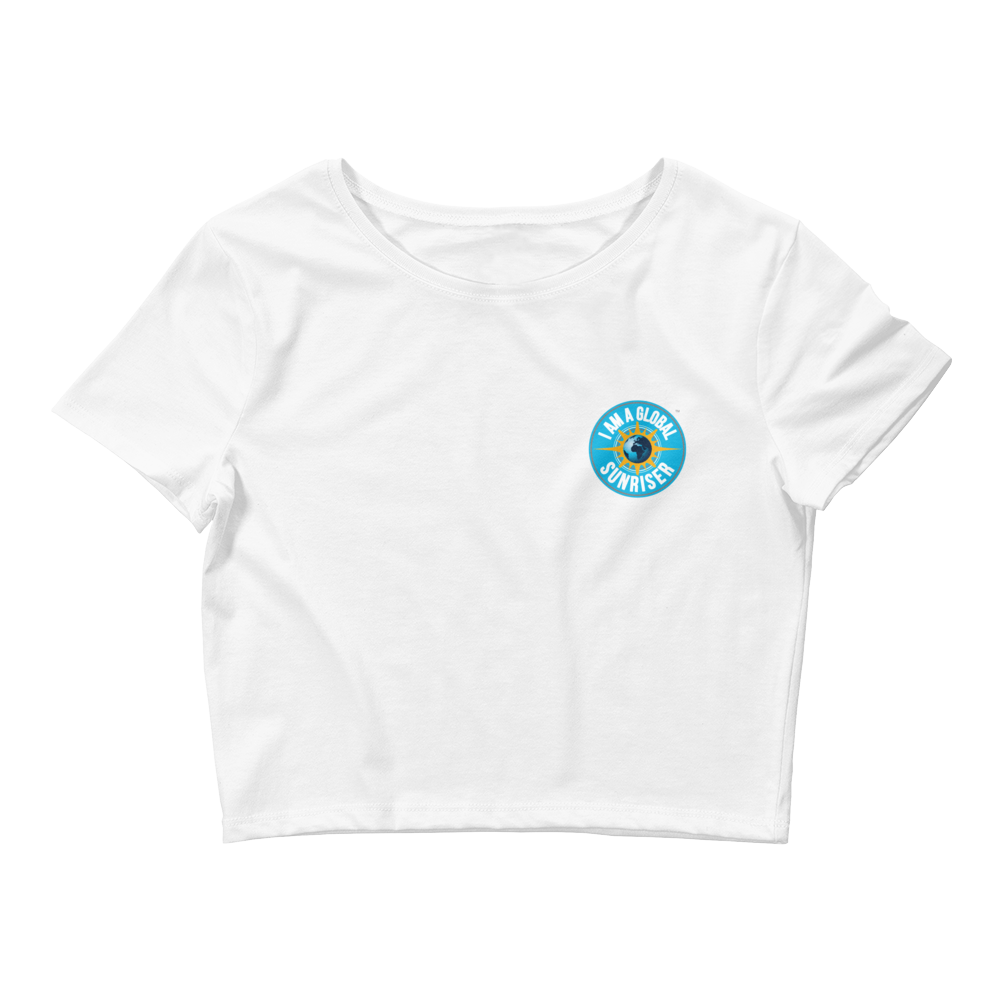 Women's Global Sunriser Crop Tee