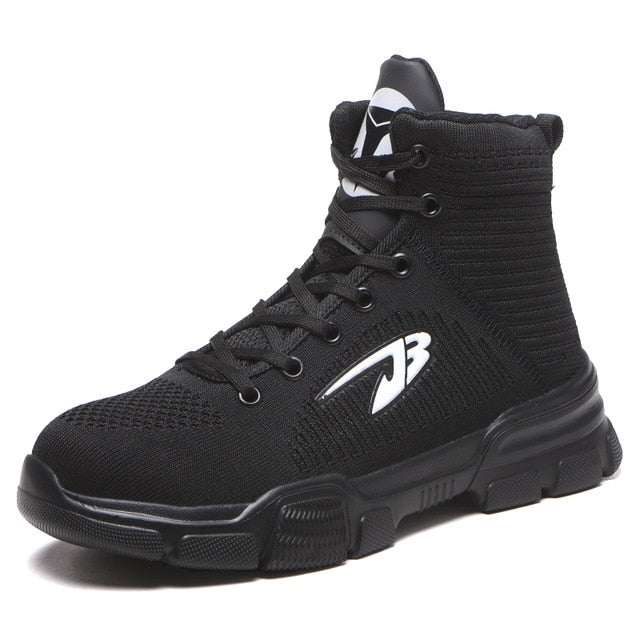 Front angled view of high top commando shoe 640 x 640