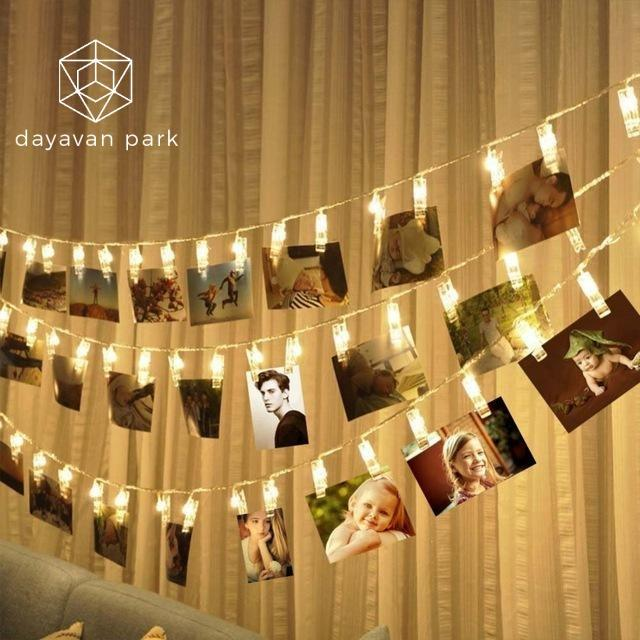 Photo Clip String Light Led