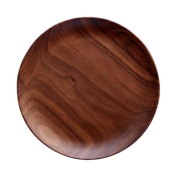 Natural Black Walnut Plates Dishes