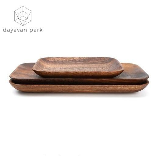 Acacia Wooden Plate Accessories
